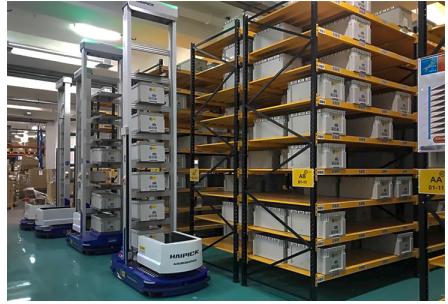 跨境電商智能倉落地香港,庫寶雙深位機器人助力實現...