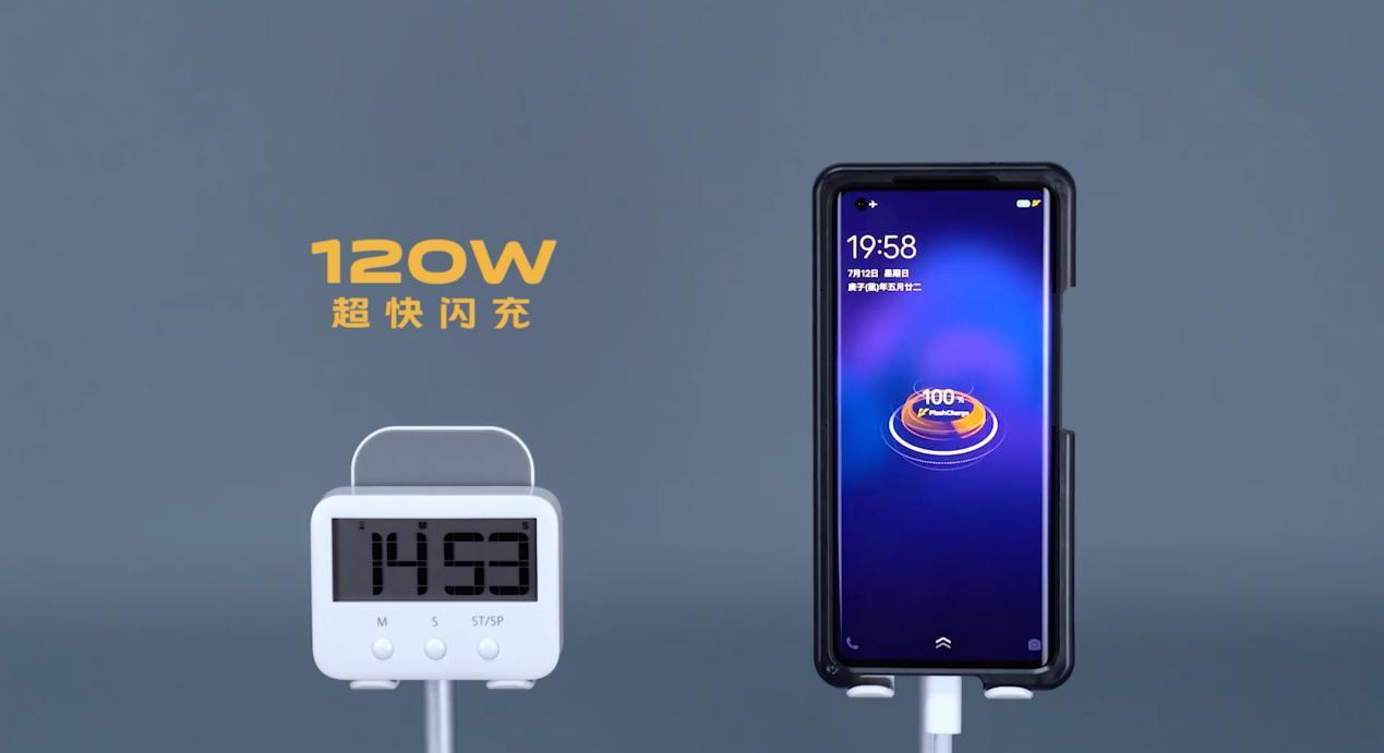 120W闪充15分钟充满100%电量,iQOO旗...